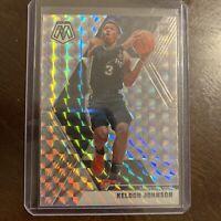 2019-20 Mosaic #238 Keldon Johnson Mosaic Silver Prizm Rookie RC Spurs