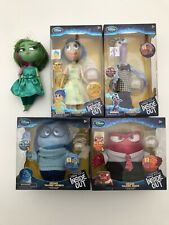 Disney Store Exclusive Pixar Inside Out Deluxe Talking Dolls Full Set