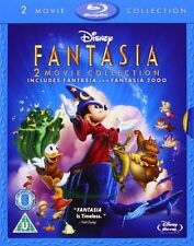 Fantasia + 2000 Blu-Ray Box Set Disney Free Region Film Movie Mickey Donald Lot