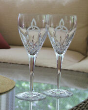 Celtic  Trinity Knot Wedding Wine Glasses Galway Irish Crystal made in Ireland