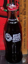 2001 HILLBILLY DAYS FESTIVAL 25TH ANNUAL PIKEVILLE KY 8OZ COCA - COLA BOTTLE