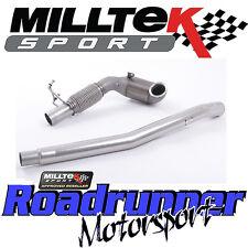 "MILLTEK SSXAU605 AUDI TTS MK3 2.0 TFSI QUATTRO 3"" CAST il tubo verticale Race Cat si adatta OE"