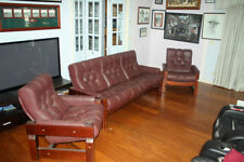 Leather Solid Wood Sofas & Couches