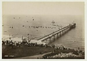 Scarborough Promenade Pier 1891 Photo By Frith