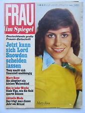 Frau im Spiegel  19/1974, Mary Roos, Bernd Clüver, Rosenthal, Alfred Tetzlaff