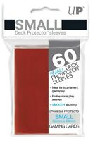Ultra PRO Small Deck Protector Sleeves Card Size RED 60ct 62 x 89mm