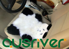 Panda Premium Quality Australia Sheep Skin Wool Car Home Seat Cushion Cover