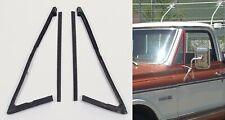 Door Vent Window Glass Seals Rubber Weatherstrip Kit for 67-72 Chevy Truck