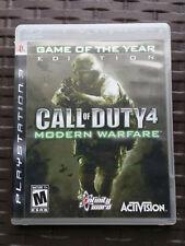 Call of Duty 4 Modern Warfare (Sony PlayStation 3, 2007) PS3