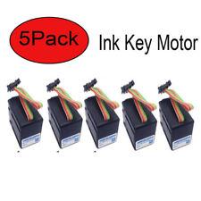 5pack Ink Key Motor For Heidelberg Sm102 Sm52 Sm74 Harris M1000 Servo Motor