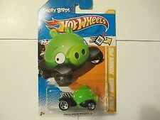 Hot Wheels Angry Birds Minion Pig Car New in Package NIB 2012 New Models 35/247