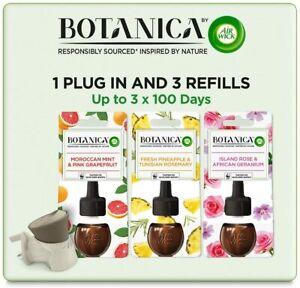 AirWick Botanica Air Freshener Plug In Bundle Pack