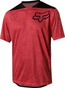 Fox Racing Indicator SS Asym Jersey - Red/Black