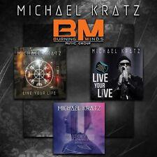 Michael Kratz - 3 CD bundle (TAFKATNO + Live Your Life + Live Your LIVE)