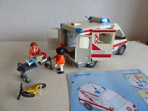 Playmobil Krankenwagen 4221 Ambulance Blaulicht Rettungswagen Sanitäter Arzt