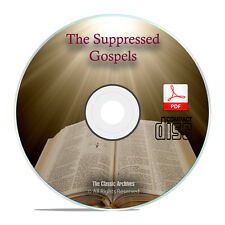 Suppressed Gospels New Testament, Forbidden Lost Books Bible, 9 Volumes CD H35