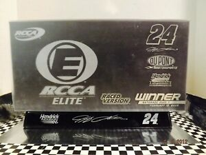 2009 JEFF GORDON RCCA ELITE DUPONT GATORADE DUAL RACED WIN 1:24