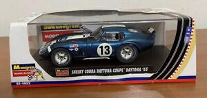 Monogram 85-4852 1:32 Shelby Cobra Daytona Slot Car #13 Daytona 1965