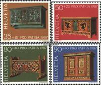 Schweiz 1345-1348 (kompl.Ausgabe) postfrisch 1987 Pro Patria