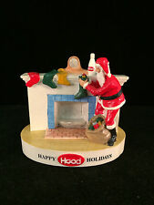 Sebastian Miniature SML-601 H.P. HOOD - Happy Holidays Signed - Hudson
