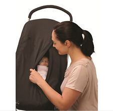 Outlook sleep pod sleep & sun shade black with blackout blind and viewing panel