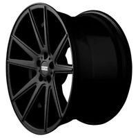 Fondmetal STC-10 Noir Brillant Jante 8x19 - 19 Pouces 5x112