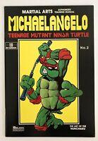 Teenage Mutant Ninja Turtles Michaelangelo Martial Arts Training Manual Vintage