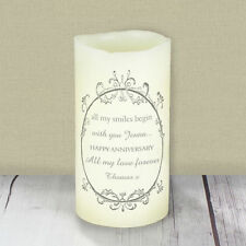 Paraffin Wax Unscented LED Candles Lights