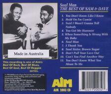 Sam & Dave - Best of Soul Man [Audio CD] Import NEW