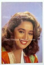 Indian Bollywood Vintage Mail Postcard of Madhuri Dixit