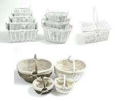 French Country Decorative Baskets