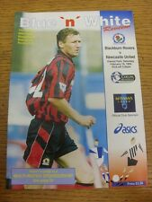 19/02/1994 Blackburn Rovers v Newcastle United  . Condition: Listed previously i