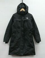 The North Face Hyvent Long Parka Jacket Womens Size Medium TNF Down Insulated