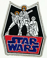 Embroidered Star Wars Craft Sequin Patch Sew Iron-On Patch Ready Made New
