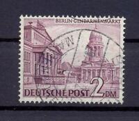Berlin 58 x 2 Mark Bauten Fallendes Wz gestempelt geprüft HD Schlegel (bs265)