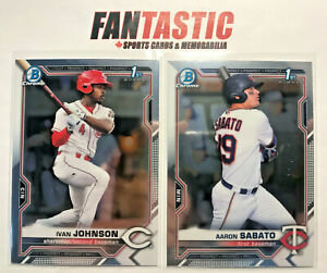2021 Bowman Chrome Base Card YOU PICK #BCP-01 to BCP-150 Finish Your Set!
