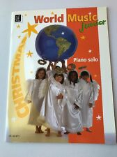 World Music Junior Piano Solo Book Christmas Sheet Music 2 Hand Richard Graf