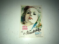 NINOTCHKA Vintage Movie Herald Greta Garbo Melvyn Douglas Comedy