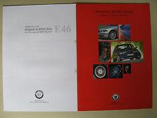 Prospectus + PRICES BMW 3 SERIES E46 Alpina Accessories Saloon Coupé Cabriolet