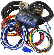 UNIVERSAL 12-CIRCUIT SHORT WIRING HARNESS FUSE BLOCK HOT ROD GM HOLDEN CHEV FORD