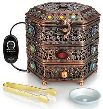 AM Regulator Electric Incense Burner - Oud Frankincense Resin Burner