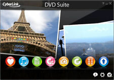 DVD Suite Cyberlink 7 Essential - ISO Includes PowerDVD9 + Power2Go