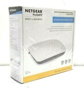NETGEAR ProSafe WAC730-10000S Dualband 3 X 3 AC1800 Access Point WAC730-10000S