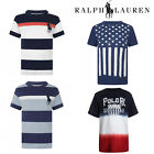 New Ralph Lauren Boys Real Genuine Polo T-Shirt Top Short Sleeved Casual Clothes