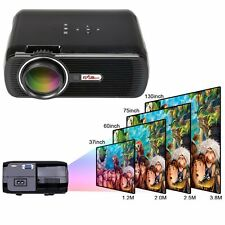 3000 LMS FULL HD 1080P Home Cinema Theater LED LCD 3D Projector HDMI 1280x800 US