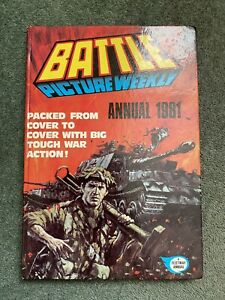 Battle Picture Weekly 1981 Vintage Annual Very Good Condition