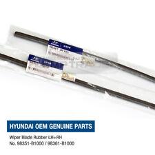 OEM Genuine Parts LH+RH Windshield Wiper Blade Refill Rubber for HYUNDAI cars