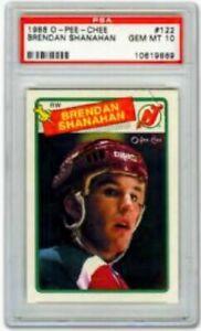 1988 89 OPC #122 BRENDAN SHANAHAN ROOKIE CARD PSA 10 GEM MINT