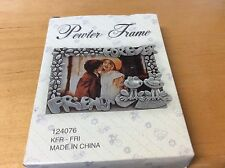 FOREVER FRIENDS  PEWTER FRAME NEW IN BOX