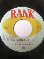"Rare Rockabilly Tittyshaker Promo 45/ Dynamics ""Arnold"" / ""Centipede"" Clean!"
